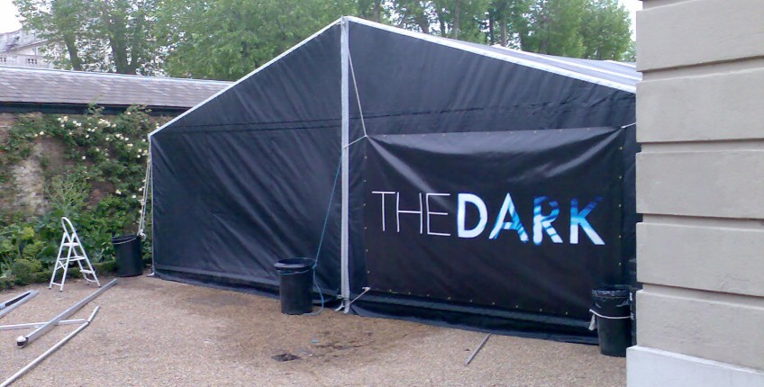 Image010 & In The Dark Frame Tent from Barkers Marquees