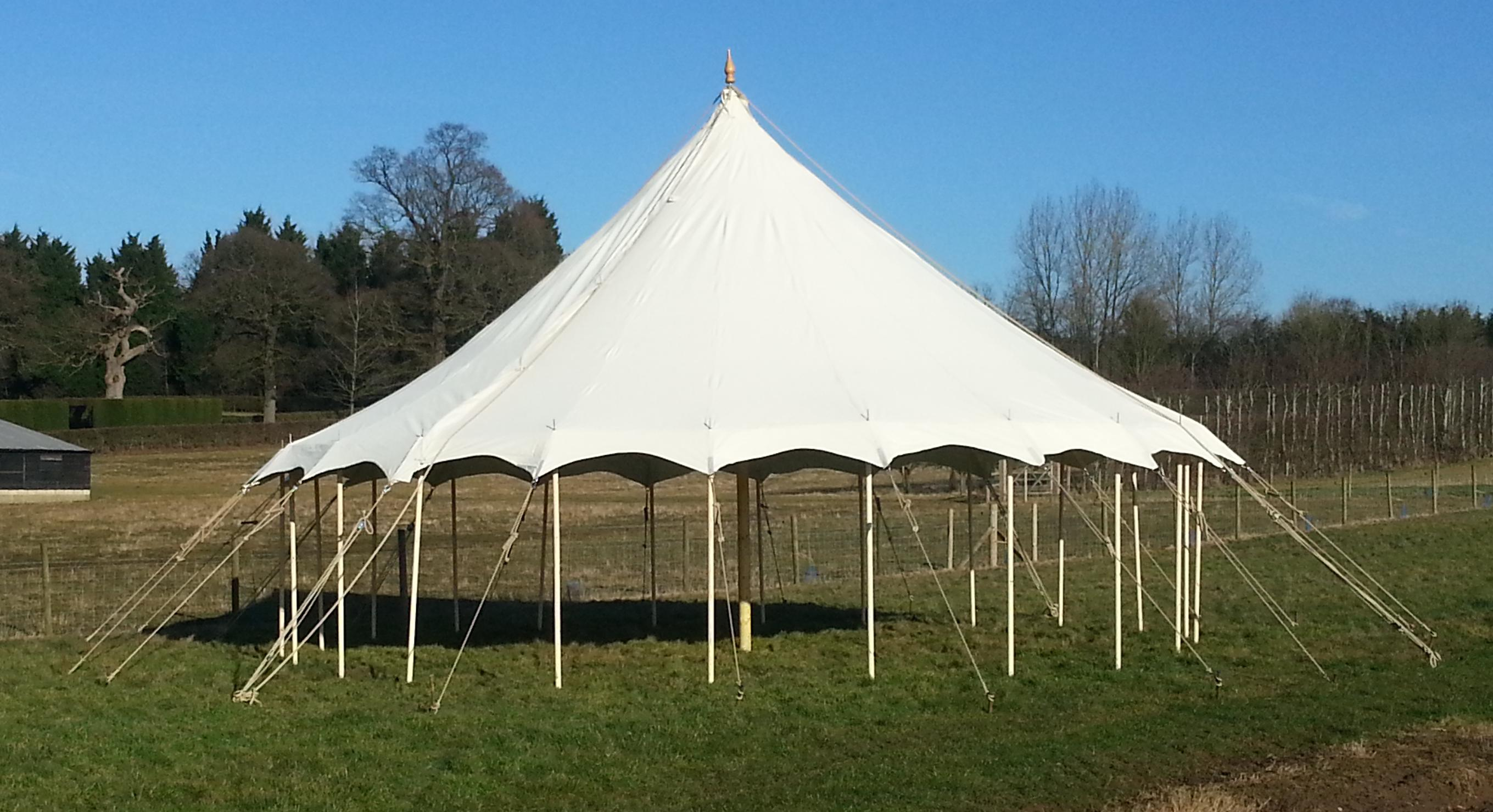 New Round Ended Petal Pole Marquees Barkers Marquees