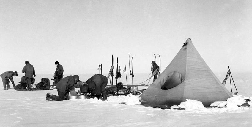 Captain Scott Tent & Captain Scott Tents - BARKERS Marquees