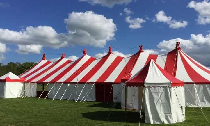 Tensioned Pole Marquee
